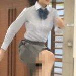 【放送事故】アイドルパンチラハプニング!制服スカートの中身が丸見えにwww