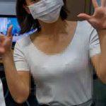 女子アナさん、オフショット画像で透けブラ!くっきり見えすぎだろwww