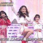 """【放送事故】NHKの生放送で""""アレ""""がNMB48のスカートの中からこんにちはwwwwww"""
