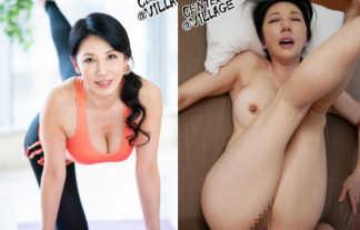 元パーソナルトレーナーの五十路妻が初撮りデビューで鍛え抜かれたエロ巨乳おっぱいと美尻を見せつけるwwww
