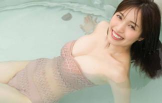 【画像】元CHERRSEE・村島未悠(23)が3年ぶりのFカップ巨乳おっぱいグラビア披露wwww